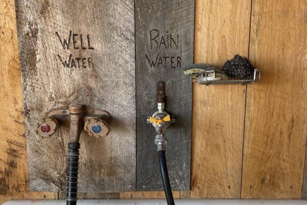 Outdoor Sink Water Options