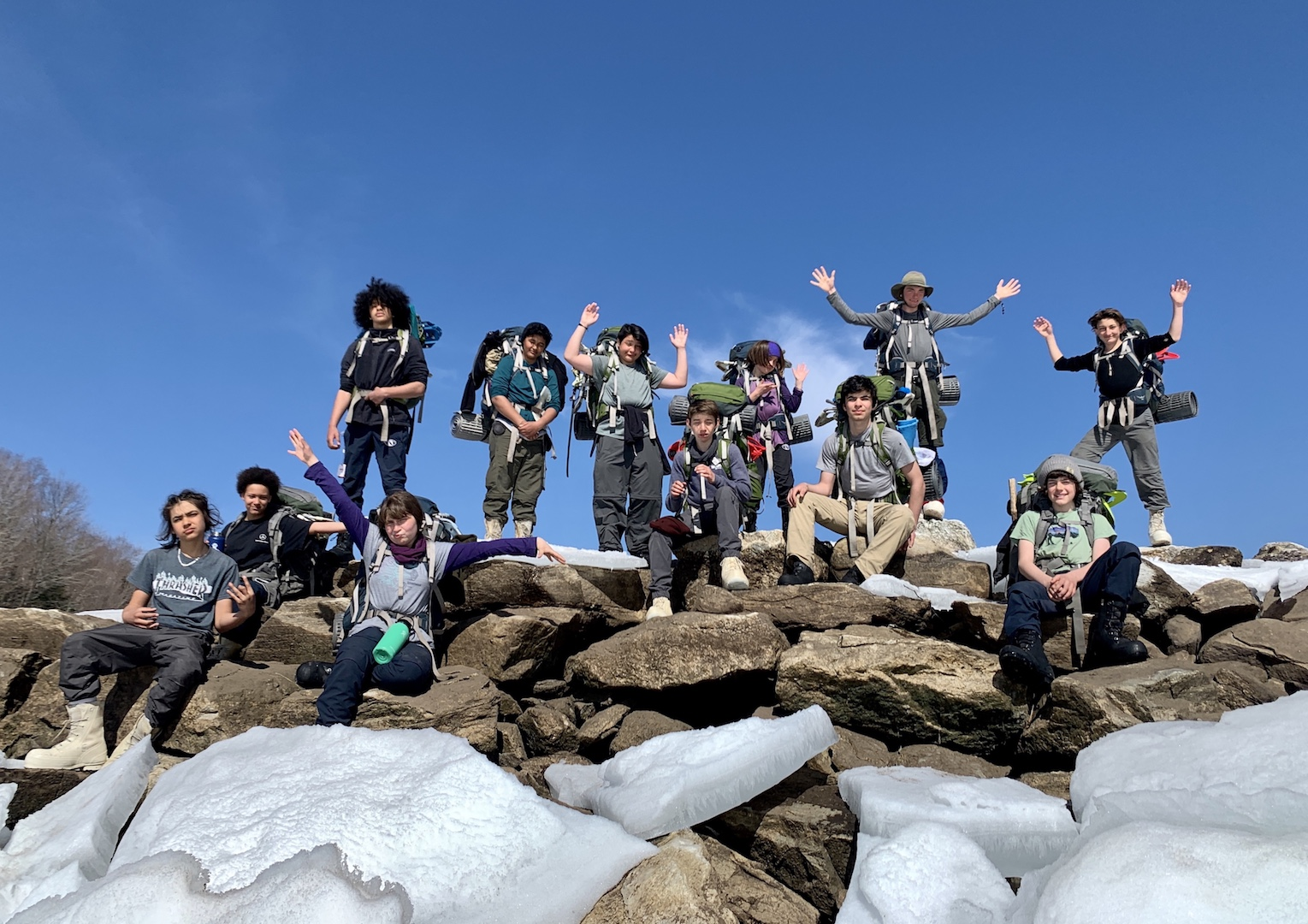 Community School Spring 2021: Green Mountain Expedition